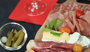plateau charcuterie fromages